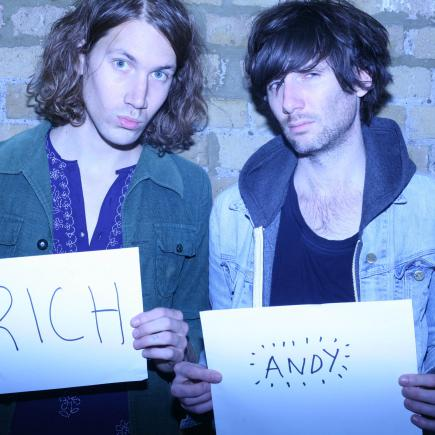 Rich and Andy
