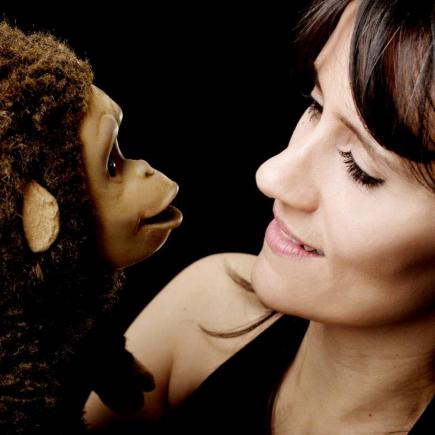 Nina Conti by Claes Gellerbrink