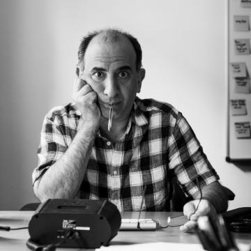 Armando Iannucci by Matt Crockett