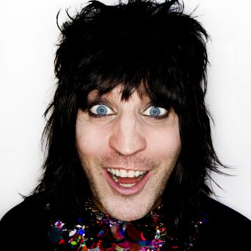 Noel Fielding, photo by Dave Brown