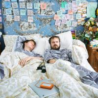 Joe & Tim bed in